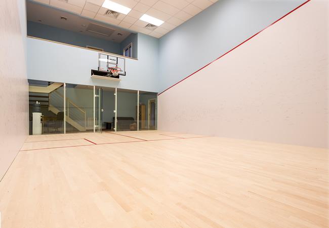 Squash Court Interior